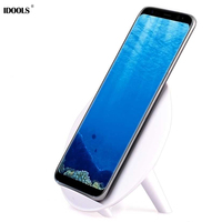 IDOOLS Qi Wireless Charger For IPhone X 8 8 Plus Mobile Phone Wireless Charging Pad For