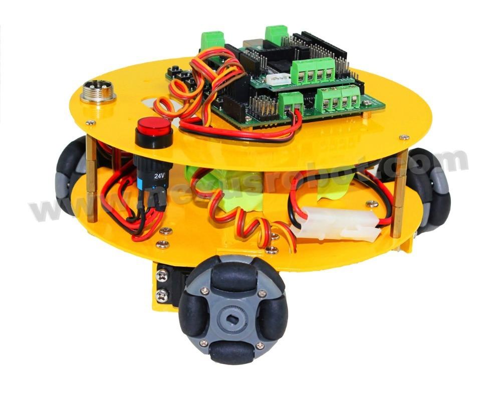 3 WD 48 mm Omni Wheels Arduino compatible con el coche de robótica - Escuela y materiales educativos - foto 2