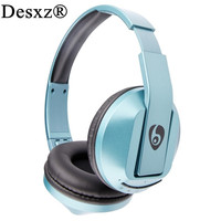 Desxz S77 Wireless Bluetooth Stereo Headphone Headsets Foldable Handsfree Noise Cancelling Mic For MI Smartphone PC