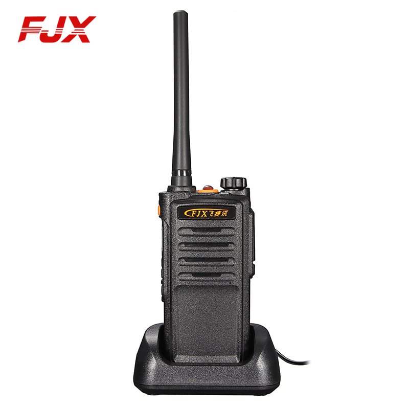 FJX FZ 390 Handheld Walkie Talkie 5Km Intercom Rechargeable DC 7 V 2200mAh Li ion Battery