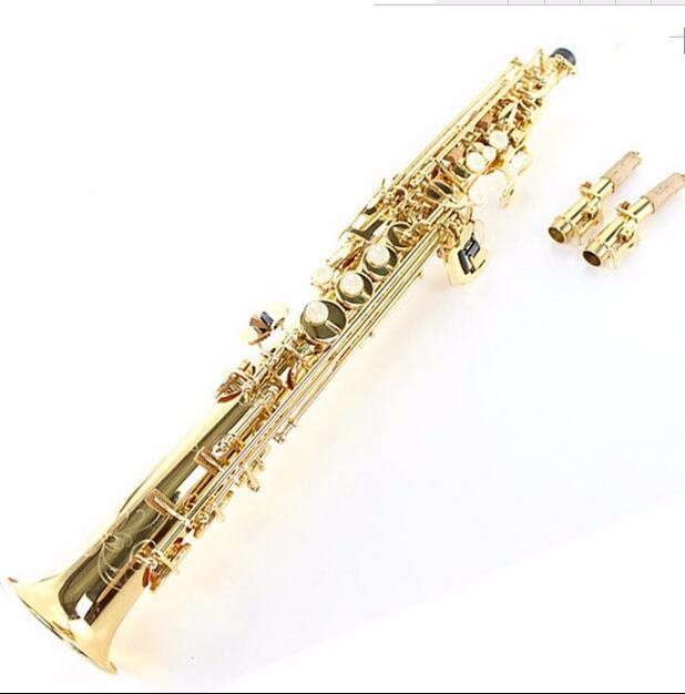 2018 France 54 saxophone Soprano pitch Professional B flat Split saxophone mouthpiece Musical instruments Soprano Free shipping купить