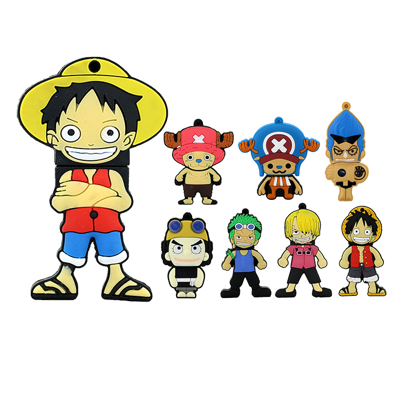 unitate de memorie Unitate USB flash drive 4gb 8gb 16gb 32gb 64gb Cartoon USB 2.0 luffy u unitate de disc flash pendrive Chopper usb stick