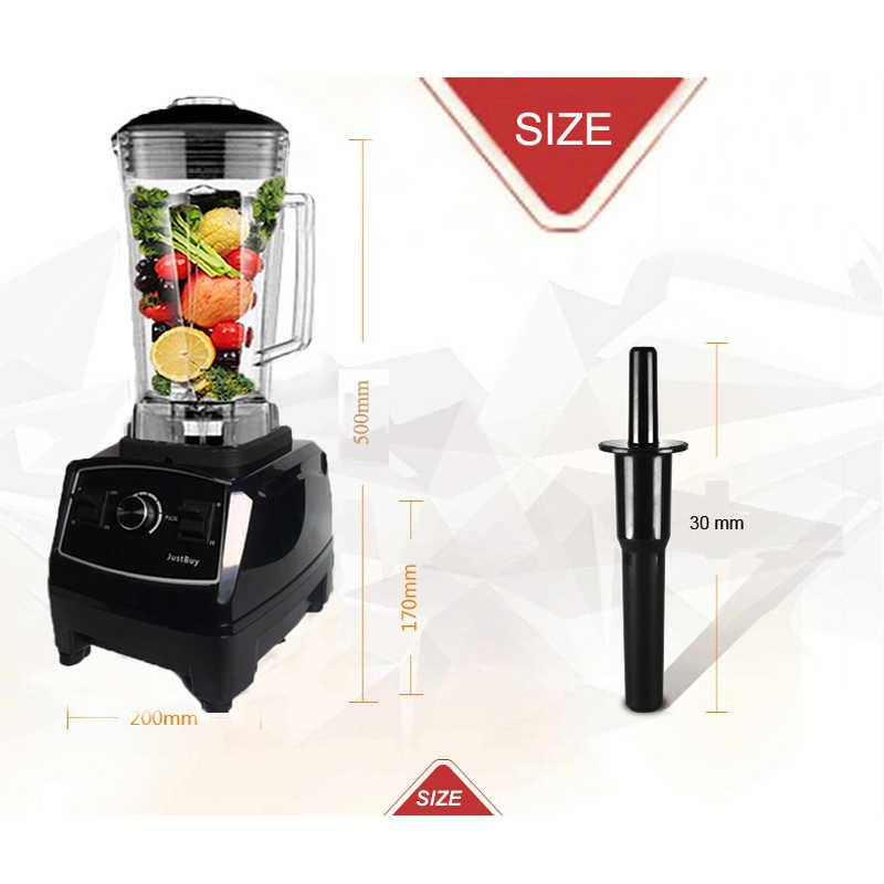 Bpa livre 3hp pesado comercial liquidificador misturador de alta potência processador alimentos ice smoothie bar frutas liquidificador elétrico