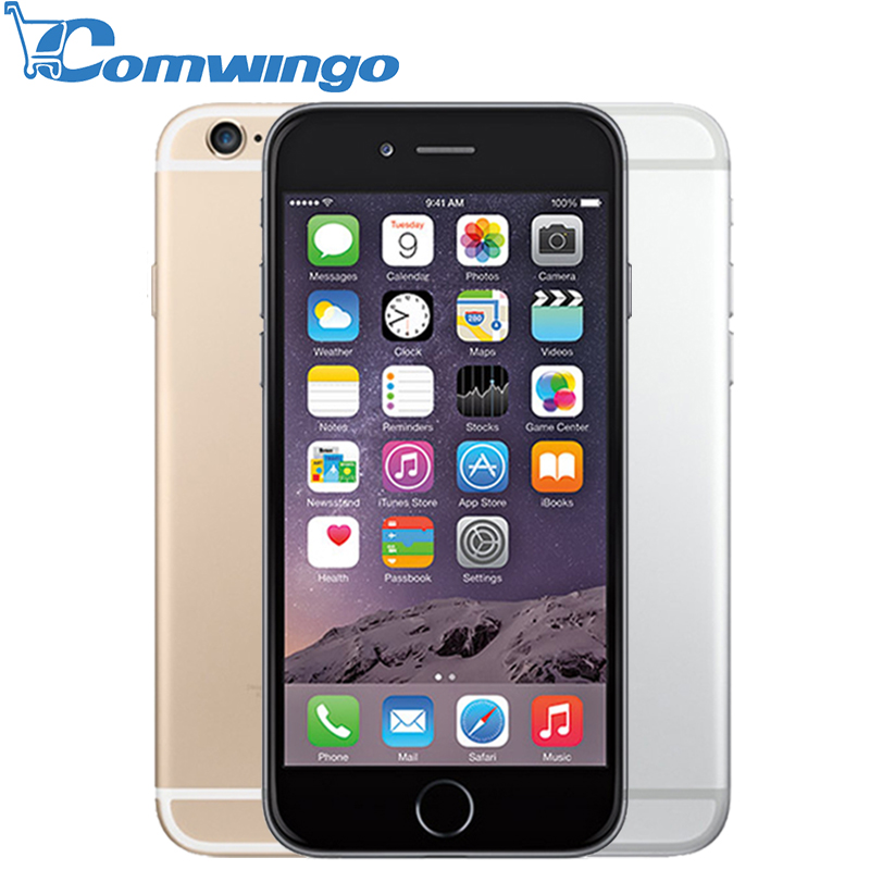 Original Unlocked Apple iPhone 6 Cell Phones 1GB RAM 16/64/128GB ROM 4.7'IPS GSM WCDMA LTE iPhone6 Used Mobile Phone