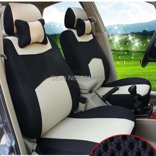 Qualidade altura 12 Pçs/set malha de poliéster tamanho universal fit conjunto tampa de assento do carro à prova de poeira auto acessórios almofada do assento de carro conjunto