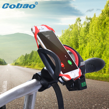 Cobao ABS Material Universal Motorcycle Bike Bicycle Accessories Handlebar Mount mobile phone Holder Stand