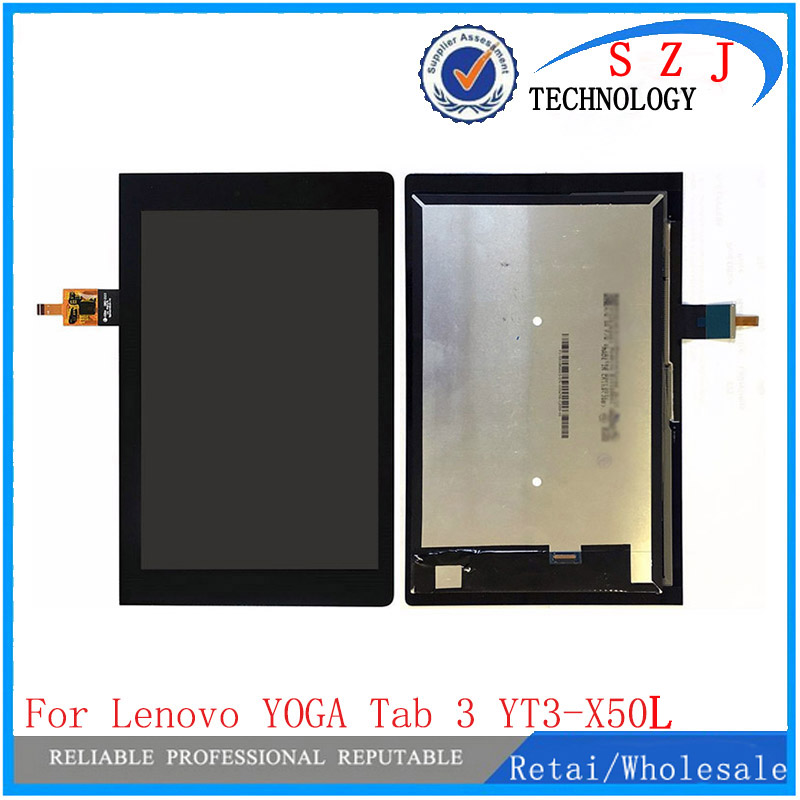 New 10.1 inch lcd + touch For Lenovo YOGA Tab 3 YT3-X50L LCD Display + Touch Screen Digitizer Glass Lens assembly Free Shipping клатч dorothy perkins dorothy perkins do005bwmcg71