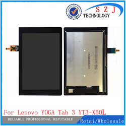 Новый 10,1 дюймовый для Lenovo YOGA Tab 3 телефон ЖК-дисплей + сенсорный экран дигитайзер стеклянный объектив в сборе Бесплатная доставка