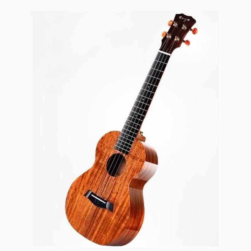Enya Ukulele K1 solide Koa Ukelele 23 pouces 26 pouces petit ténor de concert de guitare avec sac 4 cordes guitare Instruments de musique