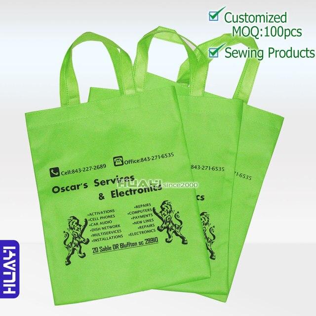 7eed4b0ff Venda quente personalizado saco não tecido, saco de compras de  Supermercado, sacola de impressão