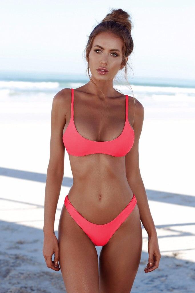 HTB1kQBzbEvrK1RjSspcq6zzSXXaK COSPOT Bikini 2019 Sexy Women Swimwear Brazilian Bikini Push Up Swimsuit Solid Beachwear Bathing Suit Thong Biquini Bikini Set