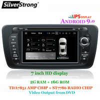 SilverStrong IPS Android9.0 Radio Auto DVD für SEAT IBIZA 2009-2014 mit beste Radio Mirroring Link option DVR TUPFEN antenne