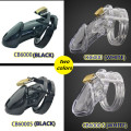 2 colors Plastic CB6000&CB6000S male chastity device cock cage penis ring penis sleeve padlock penis cage adult sex toys for men