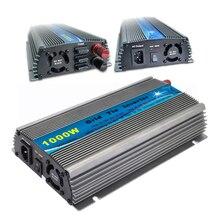 1000W MPPT Grid Tie Inverter 10.5-30V / 22-50V DC to AC 190-260V or 90-140V  Solar Wind Power On Grid Inverter 1000W