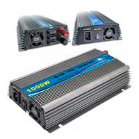 1000W MPPT Grid Tie Inverter 10.5-30V / 22-50V DC to AC 190-260V or 90-140V Solar Wind Power On Grid Inverter 1000W