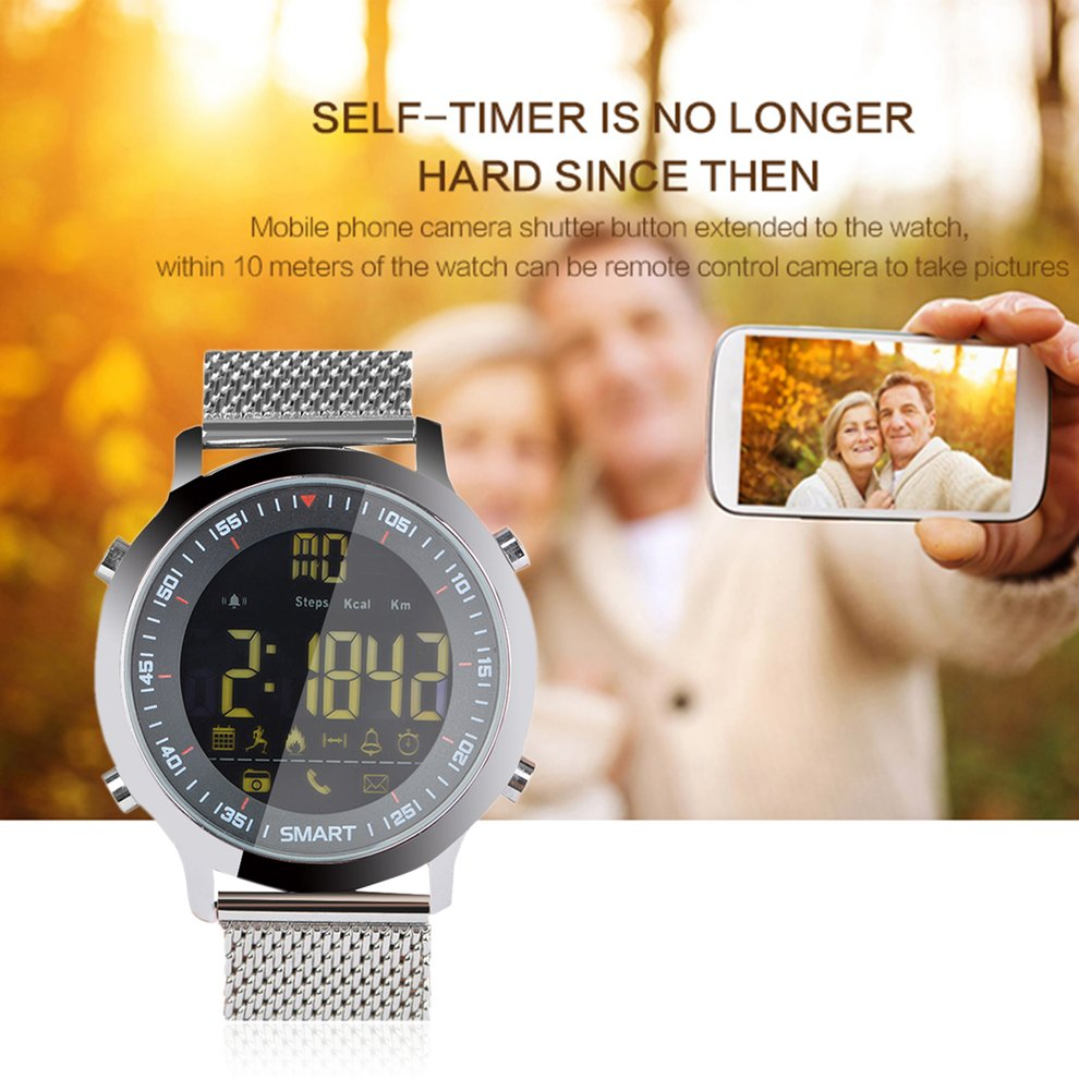 цена 10PCS Smart Watch Bluetooth Waterproof Sport Monitoring Pedometer Call Message Reminder Ultra-long Standby Wristwatch