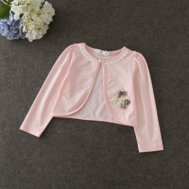 c29b2dd17b6b 8pcs lot Wholesale Kids Jacket for Girls 1 8Y Baby Girls Cardigan ...