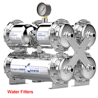 SG TS 1000 Stainless Steel Ultrafiltration Water Purifier without electricity membrane water filter Drink Straight UF Filter