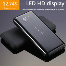 Power Bank 20000Mah Qi Wireless Charger fast Charge