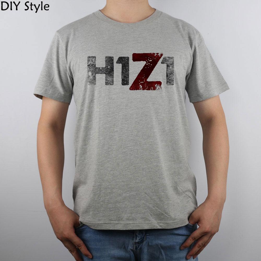 J aime H1z1 t-shirt Top Pur Coton Hommes T-shirt - a33 84639af70283