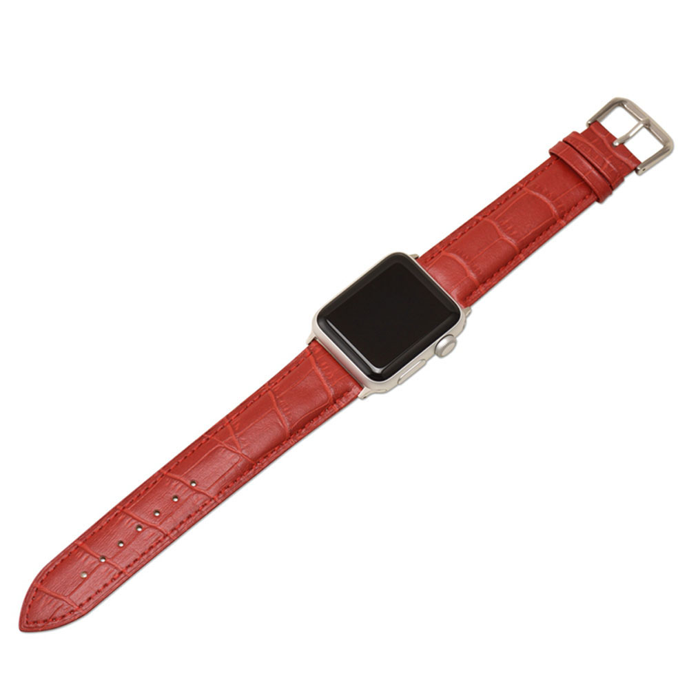 Leather Apple Watch Strap Exchange iWatch Watchband Band Series 3 2 1 Sport Bracelet 42mm 38mm Strap in Watchbands from Watches