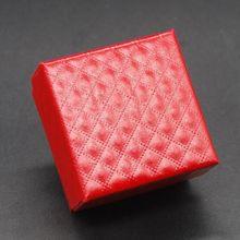 4 colors square shape jewelry box earrings rings gift boxes square carton 5X5X3 cm