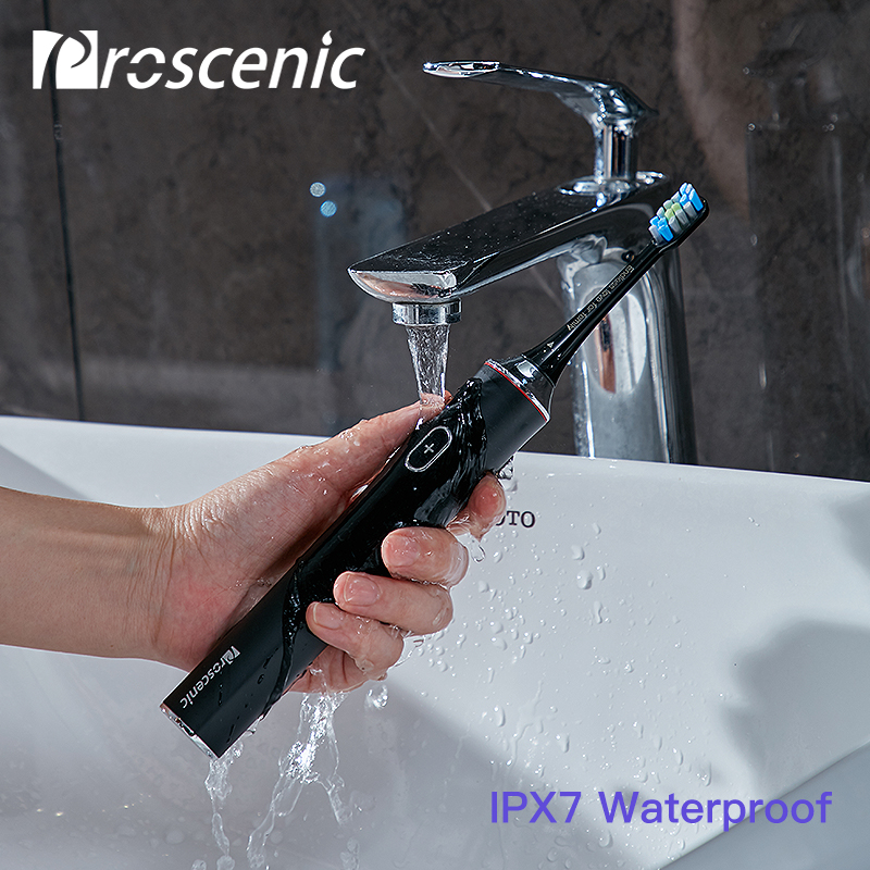 Proscenic Rechargeable Automatic Sonic Electrical Toothbrush APP Control Intelligent Dental Health Dental Care Tool