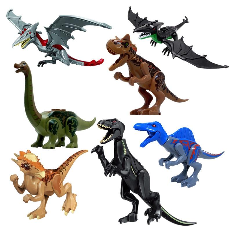 Single Sale Indominus Rex Legoing Jurassic World Dinosaurs Building Blocks Toys Action Figures