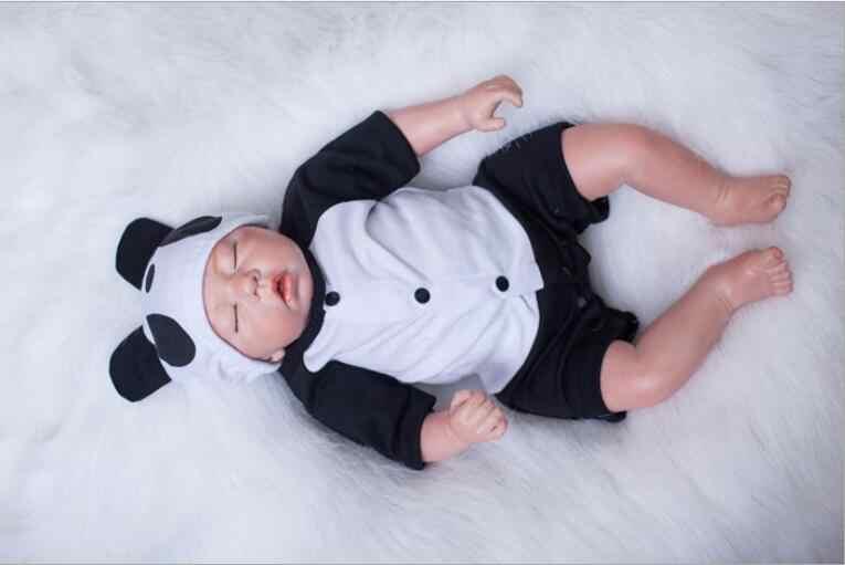 """20 """"nova Chegada preço Barato Cabelo Enraizado Handmade Silicone Adora Realistas Sexy Vaca Criança Aniversário Do Bebê Bonecas Bebe Reborn boneca"""