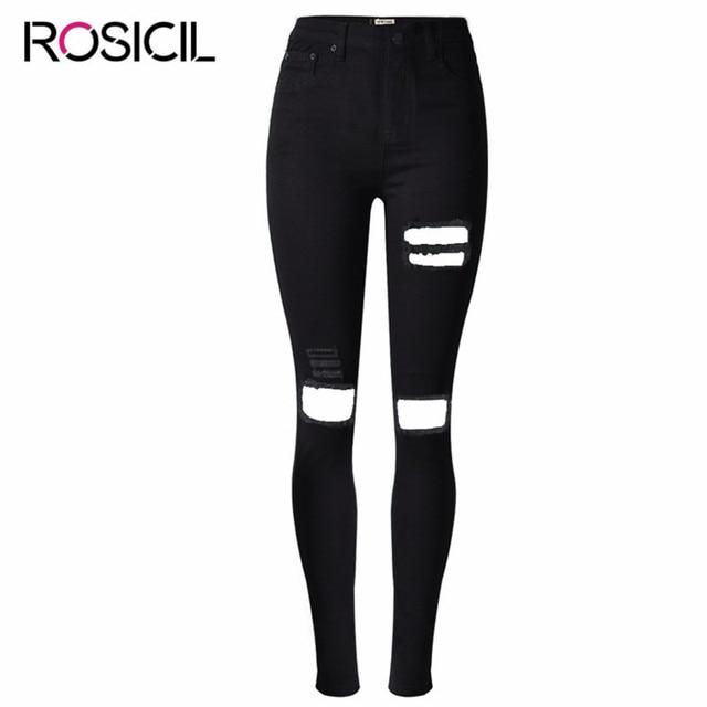 Plus Size Black Jeans for Women