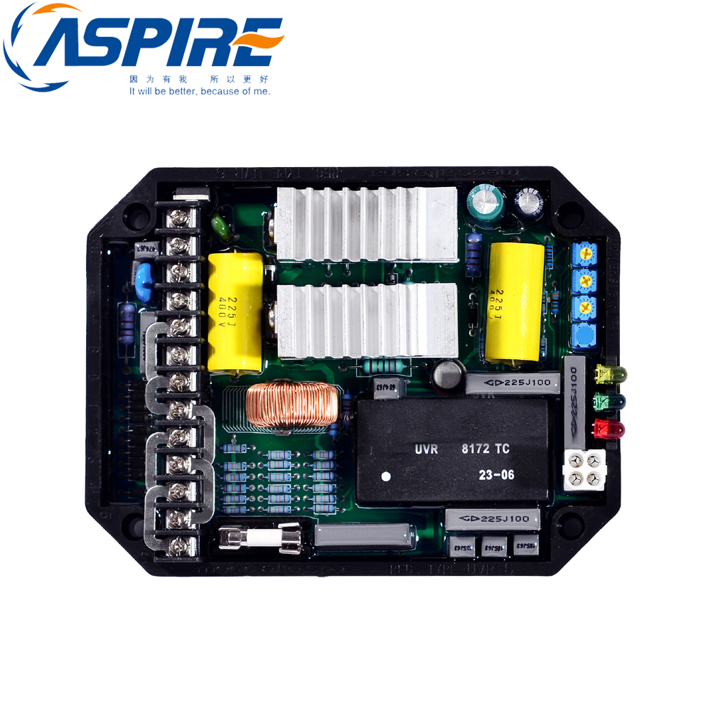 Automatic Voltage Regulator UVR6 AVR for Mecc Alte Alternator Generator hj 5k3p28 bx avr three phase automatic voltage regulator for china generator free shipping