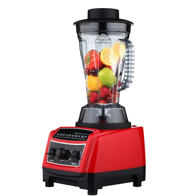 Multi-function Commercial Blender Mixer Juicer Smoothies machine 1800W Electric Infinitely Variable Blender