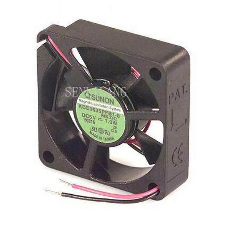 For SUNON 35*35*10 3.5CM 5V 1.0W KDE0535PFB1-8 2 Wire Cooling Fan
