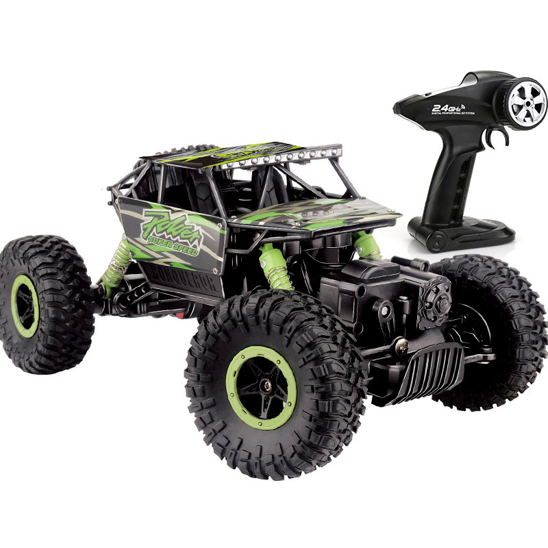 1:16 4WD RC Cars Alloy 2.4G Radio Control RC Cars 2017 High speed Trucks Off-Road Trucks Cars Toys for Children Christmas Gifts цена 2017