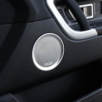 Door A Pillar Triangle Tweeter Subwoofer Speaker Decorative Trim Sticker Cover For Land Rover Discovery Sport