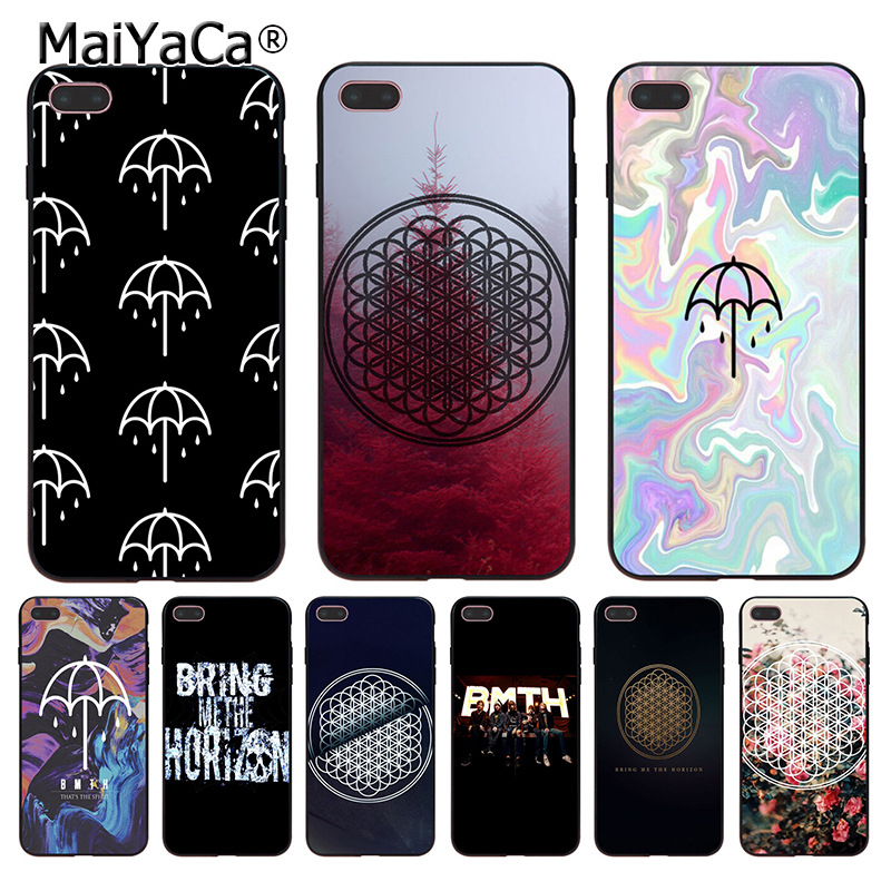 MaiYaCa BMTH Bring Me the Horizon Coque Shell Phone Case for iphone 11 Pro 8 7