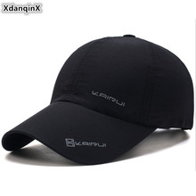 XdanqinX Snapback Cap Adult Mens Thin Breathable Letter Baseball Caps Adjustable Size Womens Fashion Tongue Couple Hat