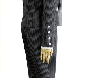 Image 5 - 4ピース/セットdanganronpa V3殺害ハーモニーsaihara shuichi探偵コスプレ衣装の女性の制服衣装帽子かつら