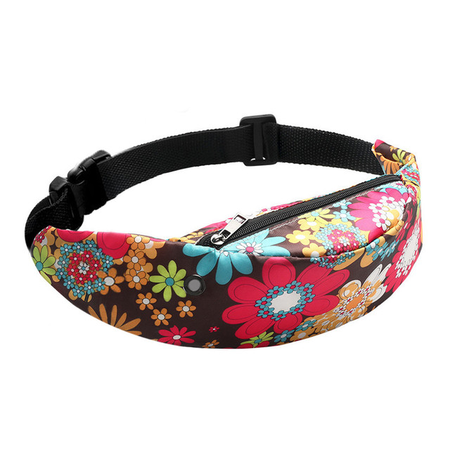 KKMHan Famous Brand Colorful Waist bag Waterproof Travel Fanny Pack Mobile Phone Waist Pack Belt Bag Wholesale Sac de taille