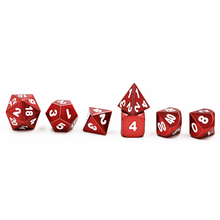 Poison Apple Red Metal Dice Set