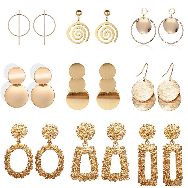 Fashion Femmes Noeud Or Cristal Strass Ear Stud Dangle Boucles d/'oreilles Bijoux