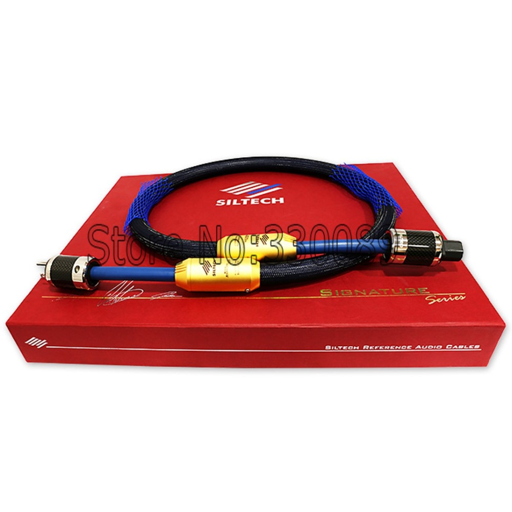 DHL Free shipping Siltech G7 RUBY Double crown power cable 1.5 M FURUTECH FI-50 M US VER with original box  цены