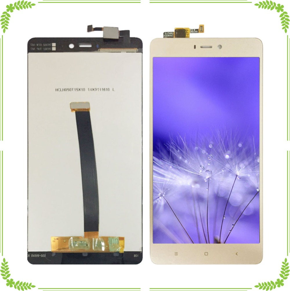 Черный/белый/золотой для xiaomi 4s ЖК дисплей с сенсорным экраном дигитайзер для xiaomi 4s ЖК сенсорный экран для xiaomi 4s lcd
