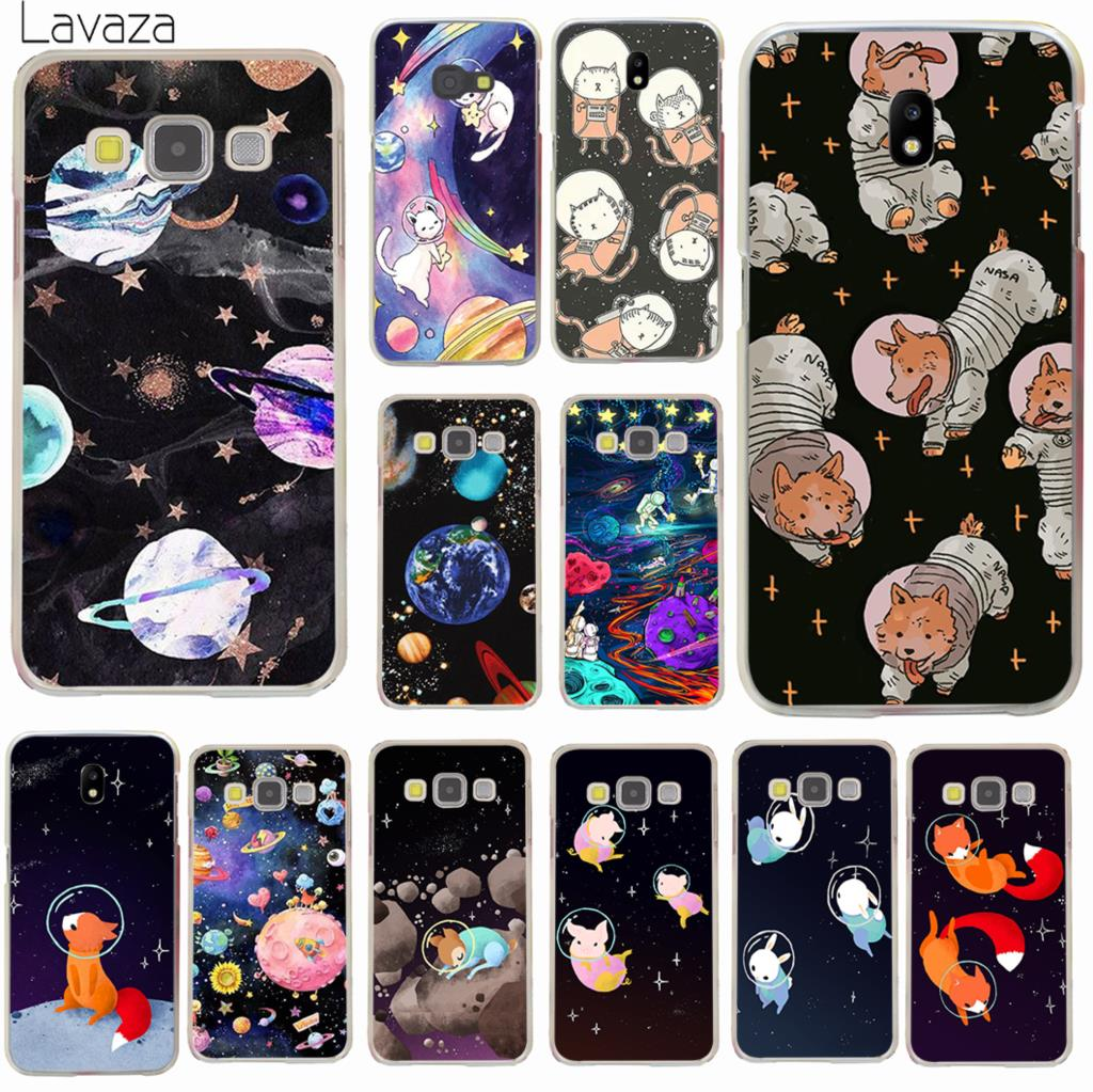 Lavaza cat Astronaut dog fox Space Moon universe Case for Samsung Galaxy J3 J1 J2 J7 J5 2015 2016 2017 J2 Pro Ace J7 J3 J5 Prime