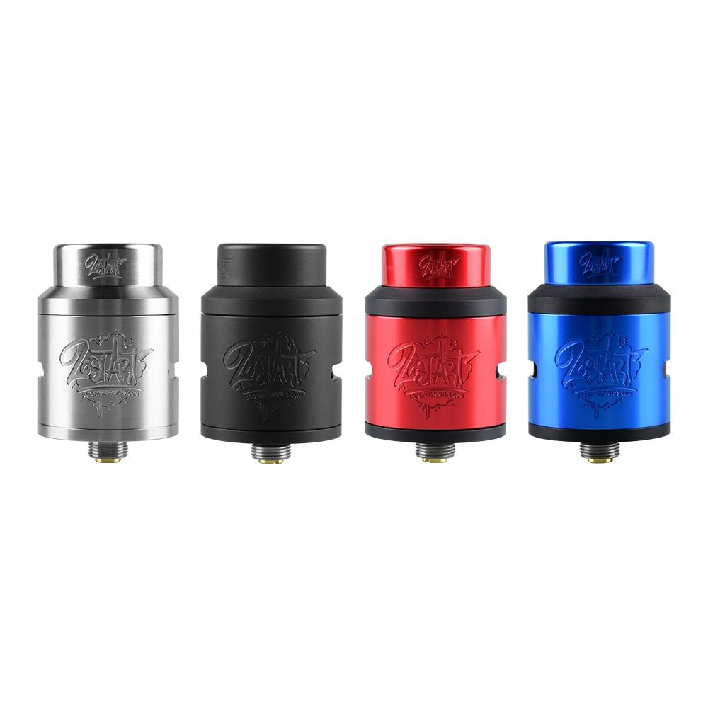 100% Original Goon V1.5 LOST Art RDA atomizador 24mm BFSquonk 510 Pin y tanque de cigarrillo electrónico de llenado superior matón 528 RDA