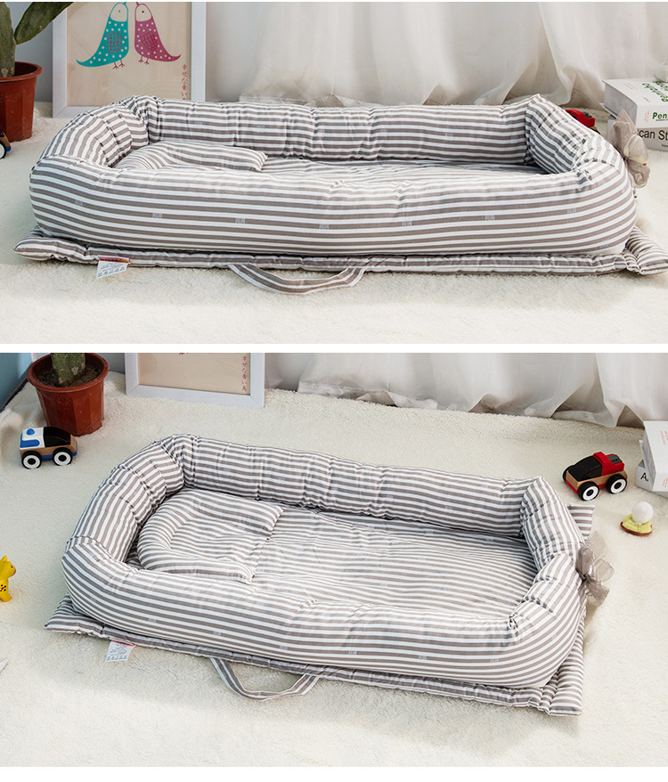 Baby Bag Portable Newborn Biomimicry Multifunctional Emperorship Solidder Nursery Foldable Travel Bed with Bumper <font><b>Cot</b></font> Mattress