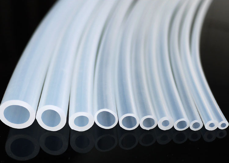 Silicone Hose Silica Gel Tube Pipe Temperature Resistance SGS Food Grade OD 25 - 34mm x ID 15mm - 28mm Transparent