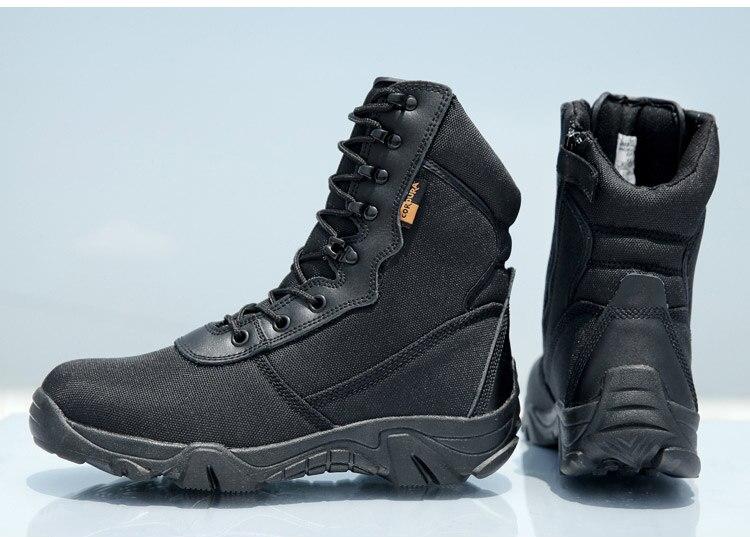 escalada esportes caça preto sapatos do exército