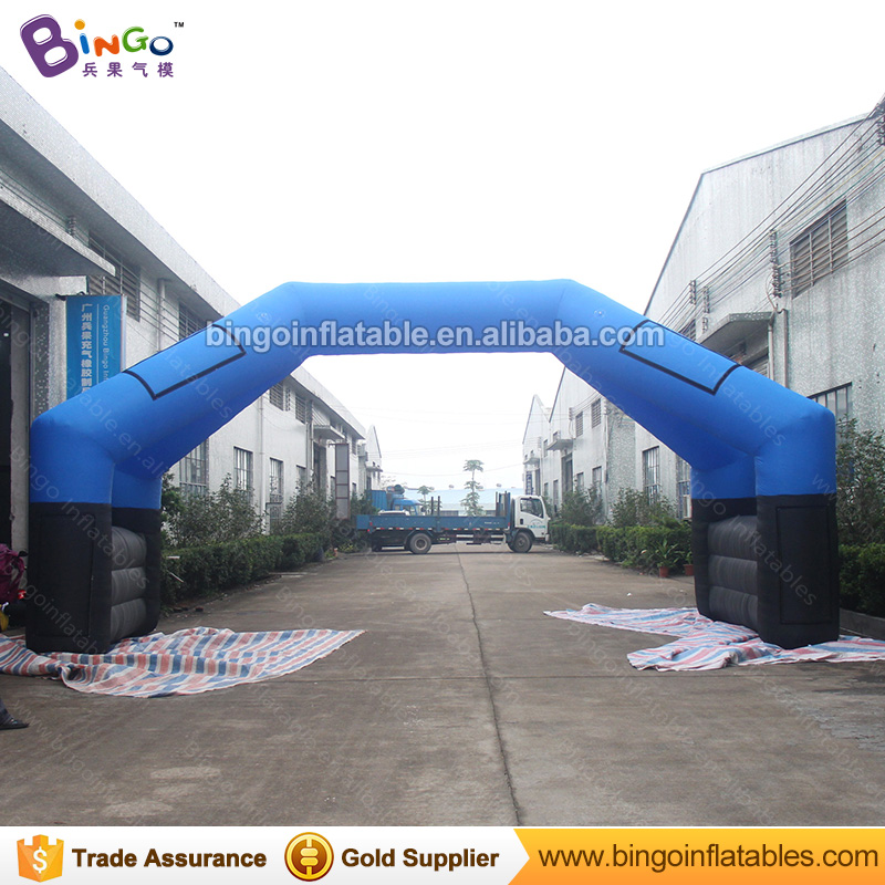 8*4M Inflatable Arch for Race Events Inflatable Racing Archway Star Finish Line Entrance Archway for Advertising or Activities 420d oxford inflatable arch inflatable archway 6 3 m with your logo