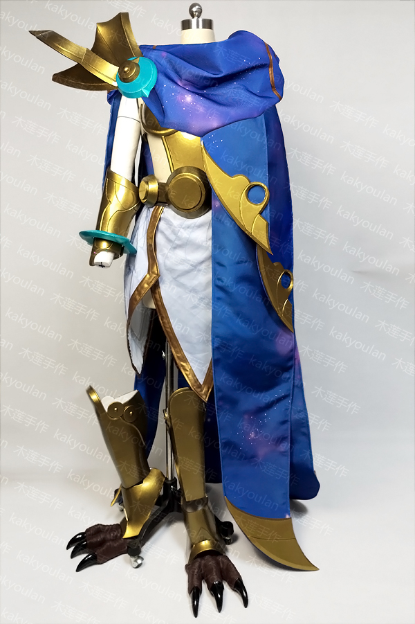 Big Sale] LOL Cosmic Dusk Xayah Cosplay Costume high quality private